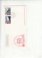 GEAN BRETAGNA 1988 -  Unificato  1309/10 - Annullo Speciale  Illustrato - NAVE - TRENO - 1952-.... (Elisabetta II)