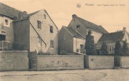 CPA - Belgique - Housse - Jolis Pignons Place De L'Eglise - Blegny