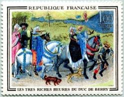 N° Yvert & Tellier 1457 - Timbre De France (Année 1965) - MNH - Les Très Riches Heures Duc De Berry - Nuevos