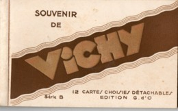 VICHY ( 03 ) - Carnet De 12 Cartes ( Complet ) - Vichy