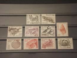 ISLANDA - 1980 PITTORICA 2+3+2+3  VALORI - NUOVI(++) - Neufs