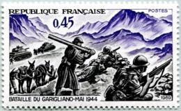 N° Yvert & Tellier 1601 - Timbre De France (Année 1969) - MNH - 25è Anniv. Victoire Garigliano (Maréchal Juin) - Nuevos