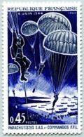N° Yvert & Tellier 1603 - Timbre De France (Année 1969) - MNH - 25è Anniv. De La Libération (Normandie) - Nuevos