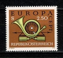 Osterreich 1973 EUROPA Yv. 1244**, Mi 1416**,  MNH - 1945-.... 2ème République