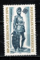 Osterreich 1974 EUROPA Yv. 1279**, Mi 1450**,  MNH - 1945-.... 2ème République