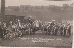 57 - LIEDERSCHIEDT -CARTE PHOTO - RECEPTION DES CLOCHES A NOEL 1921 - Other Municipalities
