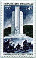N° Yvert & Tellier 1604 - Timbre De France (Année 1969) - MNH - 25è Anniv. De La Libération (Mont Mouchet) - Nuevos