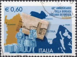 VARIETA 2007 - GIULIANA DI FERTILIA - CARTOLINA SPOSTATA - USATO - 6. 1946-.. Repubblica