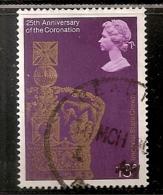 GRANDE BRETAGNE   N°   867  OBLITERE - 1952-.... (Elizabeth II)