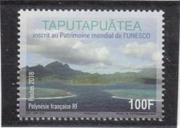 B6 - POLYNESIE FRANCAISE Poste De 2018 - MARAE TAPUTAPUATEA ( Thème J. COOK ) - Polynésie Française