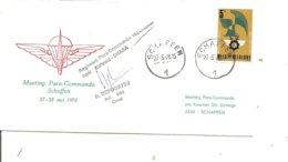 Parachutisme - Para-Commandos ( Commémoratif De Belgique De 1978 à Voir) - Fallschirmspringen