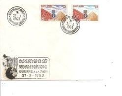 Contre La Faim ( FDC Du Cambodge De 1963 à Voir) - ACF - Aktion Gegen Den Hunger