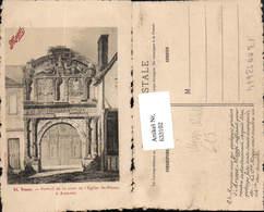 633102,tolle Reklame AK Maggi Arome Yonne Tor Eglise St. Pierre - Werbepostkarten