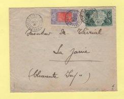 Guinee Francaise - Kindia - 9 Sept 1931 - Par Avion Destination France - Lettres & Documents