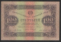 RUSSIA 100 RUB  1923 - Rusland