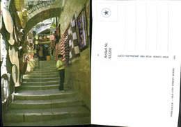 632201,Jerusalem Old City Street Scene - Israel