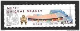 France  N°3937** Quai Branly (sous Faciale) - France
