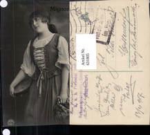 631805,Sinti Roma Mignon Zigeuner Tamburin - Ansichtskarten