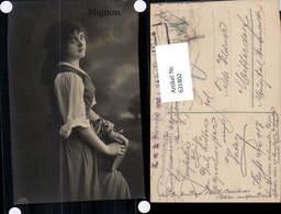 631802,Sinti Roma Mignon Zigeuner Tamburin - Ansichtskarten