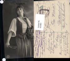 631801,Sinti Roma Mignon Zigeuner Tamburin - Ansichtskarten