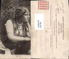 631799,Sinti Roma Mignon Zigeuner Orientale Schmuck Erotik - Ansichtskarten