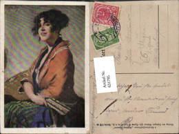 631795,Künstler Ak Sinti Roma Mignon Zigeuner Mandoline - Ansichtskarten