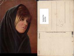 631793,Künstler Ak Lorle Mignonne Sinti Roma Mignon Zigeuner Pub Peter Triem 2 - Ansichtskarten