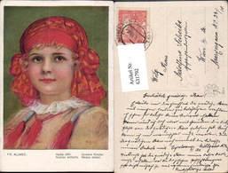 631792,Künstler Ak Fr. Klimes Unsere Kidner Sinti Roma Mignon Zigeuner - Ansichtskarten