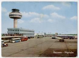 AEROPORTO DI HANNOVER, VG 1972,  FORMATO GRANDE    **** - Aerodromes