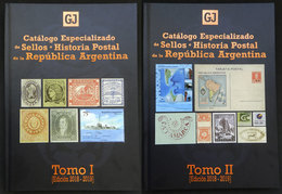 ARGENTINA: JALIL Guillermo & GOTTIG José Luis: Specialized Catalogue Of Postage Stamps And Postal History Of Argentina ( - Stamp Catalogues