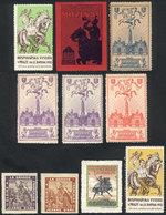 TOPIC HORSES: 10 Beautiful Cinderellas Of Various Countries, Very Old! - Cinderellas