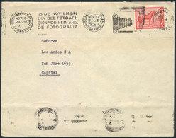 "TOPIC PHOTOGRAPHY: Cover Used In Argentina In NOV/1959, With Machine Cancel With Slogan ""18 DE NOVIEMBRE - DIA DEL FOTOA - Horses"