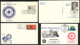 TOPIC ROTARY: 20 Covers Related To Topic ROTARY, Very Fine Quality, Very Little Duplication, Low Start! - Rotary, Lions Club