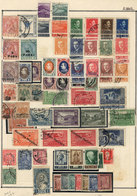 ALBANIA: Collection On Pages With Mint (without Gum, Lightly Hinged Or MNH) And Used Stamps, Including Several Good Valu - Albania