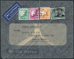 GERMANY: Cover Franked With 3.25Mk, Sent To Argentina On 13/SE/1935, Very Nice! - Covers & Documents