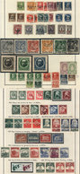 GERMANY: Collection In Album (circa 1860 To 1945, Including Many Stamps Of German States And Danzig), Used Or Mint Stamp - Collections