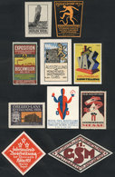 GERMANY: 10 Old Cinderellas, Very Thematic, Colorful And Interesting Group! - Cinderellas