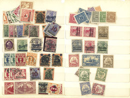 GERMANY - OCCUPATIONS: Stockbook With LARGE NUMBER Of Stamps Of Countries Occupied During The Wars, Colonies, Etc., Most - Ocupación