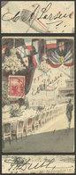 ANTARCTICA: Postcard Used In Buenos Aires On 8/DE/1903 With Manuscript Signatures Of SAMUEL DUSSE And CARL LARSEN (Swedi - Autographs