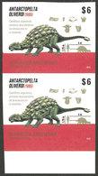 ARGENTINA: GJ.4079P, 2015 Dinosaurs In Antarctica, IMPERFORATE PAIR, VF Quality! - Argentina