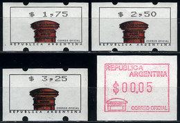 ARGENTINA: GJ.21 + 22/24, MNH, Excellent Quality, Catalog Value US$80 - Argentina