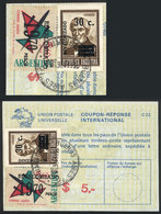 ARGENTINA: IRC With Postmark Of 16/FE/1976, With Original Value Of 5P. And Additional Postage Of 20P. Of Overprinted Sta - Altri