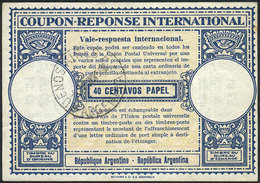ARGENTINA: 40c. IRC Of The Year 1950, VF Quality! - Altri