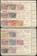 ARGENTINA: INSTITUTO NACIONAL DE PREVISIÓN SOCIAL: Work Book With More Than 80 Stamps Of Varied Values, And With Some Me - Altri