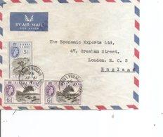 SierraLeone ( Lettre Par Avion De 1956 De Freetown Vers La Grande-Bretagne à Voir) - Sierra Leone (...-1960)