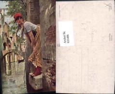 631496,Künstler Ak E. Titto Marietta Sinti Roma Mignon Zigeuner - Ansichtskarten