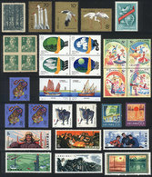 CHINA: Lot Of Varied Stamps, ALL MNH And Of Very Fine Quality (some Issued Without Gum), Catalog Value US$140+ - 1949 - ... People's Republic