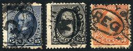UNITED STATES: Sc.227/229, Fine Quality (Sc.229 With Tiny Thin On Back), Catalog Value US$230, Low Start! - United States