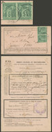 FRANCE: Return Receipt Dated 20/FE/1886 And With 10c. Franking, VF Quality! - France