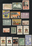 FRANCE: 18 Old Cinderellas, Very Thematic, Colorful And Interesting Group! - Cinderellas